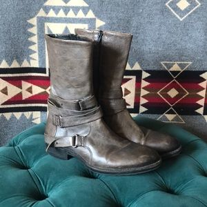 Vera Wang Lavender Label Moto boots